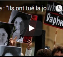 """Malte : """"Ils ont tué la journaliste, pas ses enquêtes"""""""