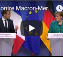 Rencontre Macron-Merkel à Berlin : une feuille de route pour réformer la zone euro ?