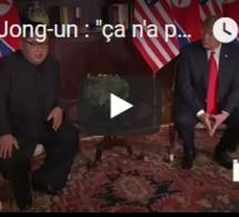 """Kim Jong-un : """"ça n'a pas été facile d'en arriver là"""""""