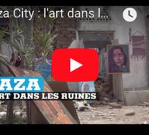 Gaza City : l'art dans les ruines