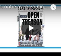 """Presse française : Rencontre avec Poutine ou la """"trahison ouverte"""" de Trump"""