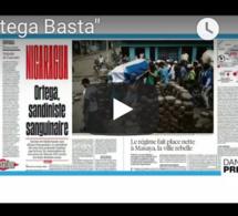 "Dans la presse : ""Ortega Basta"""