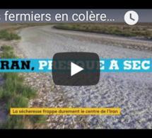 Les fermiers en colère en Iran à cause de la sécheresse