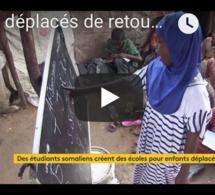 Les déplacés de retour à l'école en SOMALIE