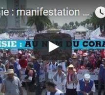 Tunisie : manifestation contre l'égalité homme/femme et l'homosexualité