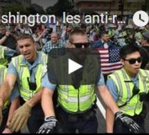À Washington, les anti-racistes en masse face à une poignée de néonazis