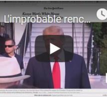 L'improbable rencontre entre Donald Trump et Kanye West