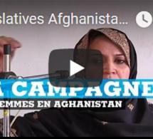 Législatives Afghanistan : la campagne des femmes