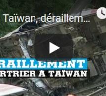 Taïwan, déraillement meurtrier