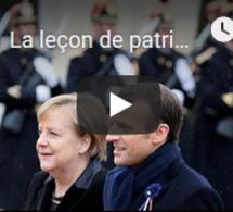 La leçon de patriotisme d'Emmanuel Macron