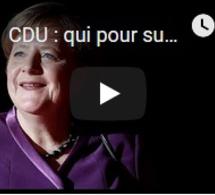 CDU : qui pour succéder à Angela Merkel à la tête du parti ?