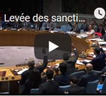 Levée des sanctions contre l'Erythrée