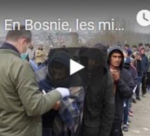 En Bosnie, les migrants attendent l'hiver avec crainte