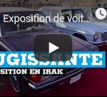 Exposition de voitures rutilantes à Mossoul - IRAK