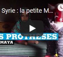Syrie : la petite Maya, née sans jambes, a enfin de vraies prothèses