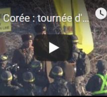 Corée : tournée d'inspection dans la zone démilitarisée