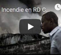 """Incendie en RD Congo : """"la piste criminelle est privilégiée"""""""