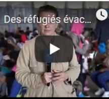 Des réfugiés évacués de la Libye par les Nations Unies