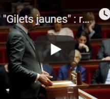 """""""Gilets jaunes"""" : rejet de la motion de censure déposée contre le gouvernement"""