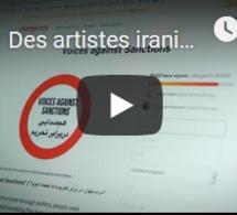 Des artistes iraniens se mobilisent contre les sanctions américaines