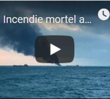 Incendie mortel au large de la Crimée