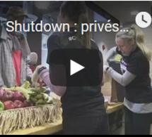 Shutdown : privés de salaire, les fonctionnaires vivent de la charité