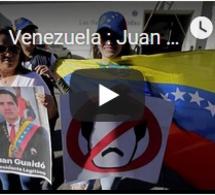 Venezuela : Juan Guaido reconnu par les USA et dix Etats sud-américains