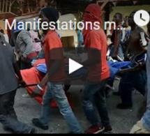 """Manifestations mortelles sur fond de corruption en Haïti : """"Moïse démission !"""""""