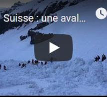 Suisse : une avalanche sur une piste de ski fait quatre blessés, dont un grave