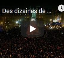 Des dizaines de milliers de Français disent non à l'antisémitisme
