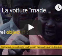 "La voiture ""made in Cameroun"""
