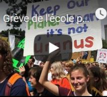 Grève de l'école pour le climat dans 112 pays