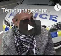 Témoignages après les attentats terroristes dans 2 mosquées en Nouvelle-Zélande