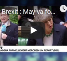 Brexit : May va formellement demander un report du divorce