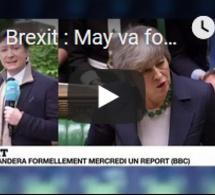 Brexit : May va formellement demander un report du divorce