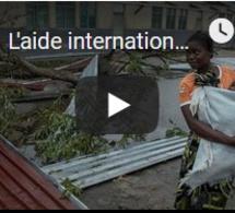 L'aide internationale arrive au Mozambique
