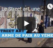 Le Street art, une arme de paix au Yémen