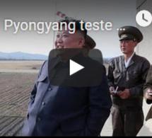 """Pyongyang teste une nouvelle arme dotée d'une """"puissante ogive"""""""