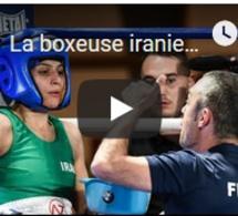 La boxeuse iranienne Sadaf Khadem reste en France par crainte d'être arrêtée en Iran