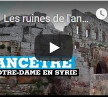 Les ruines de l'ancêtre syrienne de Notre-Dame debout malgré la guerre