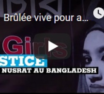 Brûlée vive pour avoir porté plainte, l'indignation au Bangladesh après la mort de Nusrat
