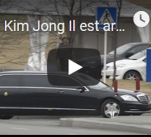 Kim Jong Il est arrivé en Russie