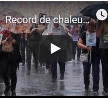 Record de chaleur et fortes pluies dans le monde en avril 2019