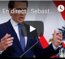 """En direct : Sebastian Kurz annonce la """"fin de la coopération"""" avec le FPÖ autrichien"""