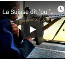 """La Suisse dit """"oui"""" au durcissement de la législation sur les armes"""