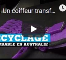 Un coiffeur transforme des bouteilles de shampoing en prothèses en Australie