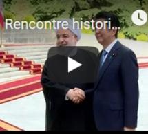 Rencontre historique entre l'ayatollah Khamenei et le Premier ministre japonais Abe en Iran