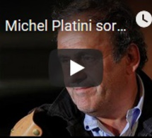 Michel Platini sorti de sa garde à vue