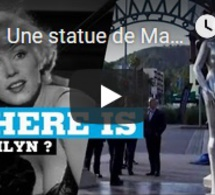 Une statue de Marilyn Monroe a été volée à Hollywood
