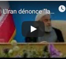"""L'Iran dénonce """"la maladie mentale"""" de la Maison Blanche après les nouvelles sanctions"""
